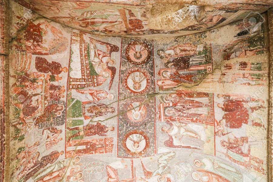 Cavusin church of st John Cappadocia Turkey
